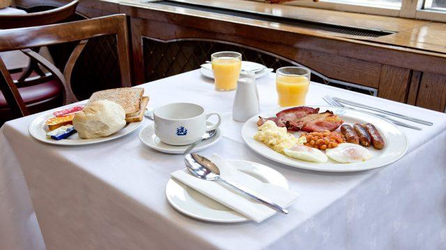 Full Breakfast included